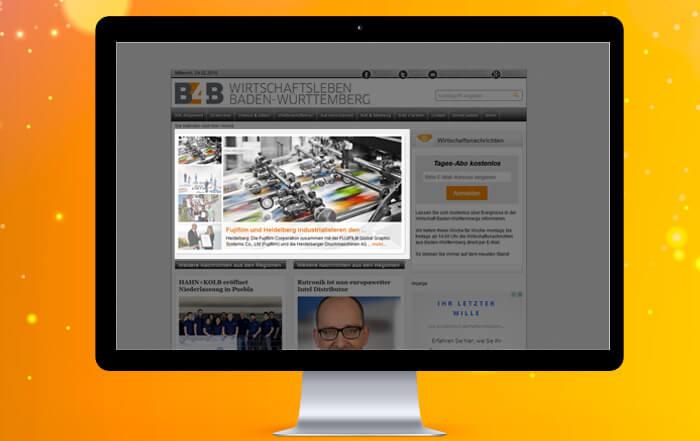 Pressemeldungen auf B4B Baden-Württemberg veröffentlichen