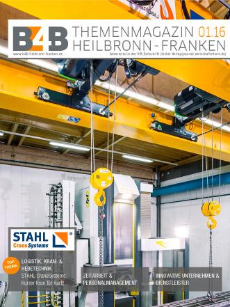 B4B Themenmagazin: Logistik, Kran- & Hebetechnik