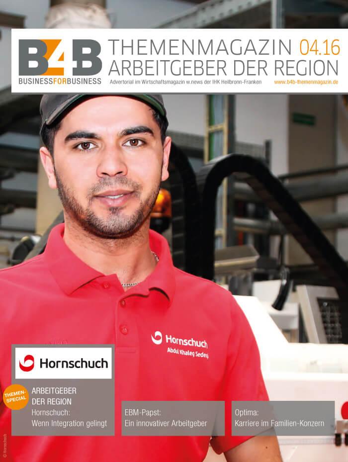 B4B Themenmagazin: Arbeitgeber der Region