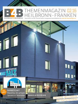 B4B Themenmagazin: Bauwirtschaft Böpple Bau