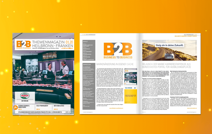 B2B Themenmagazin