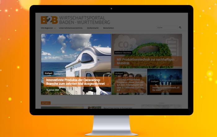 Pressemeldung Online-Portal